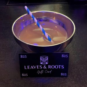 Leaves and Roots Gift Card