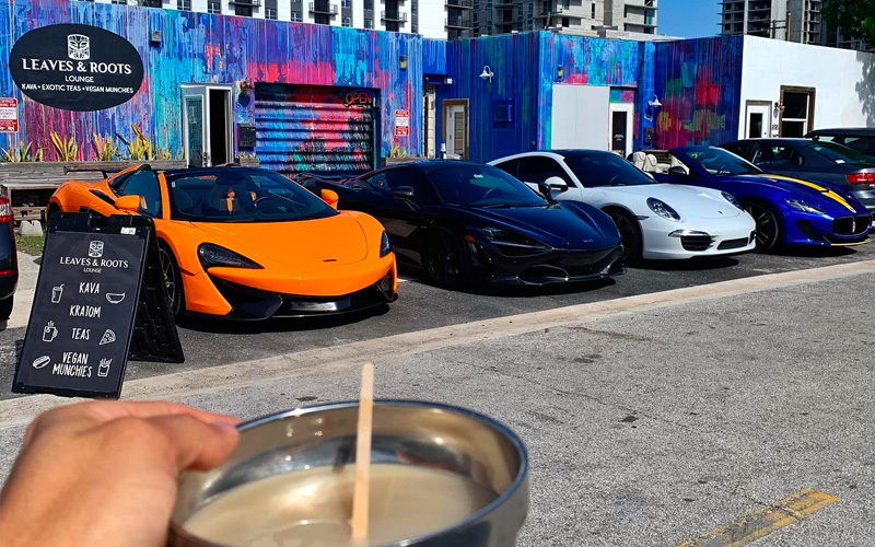 Cars and Kava